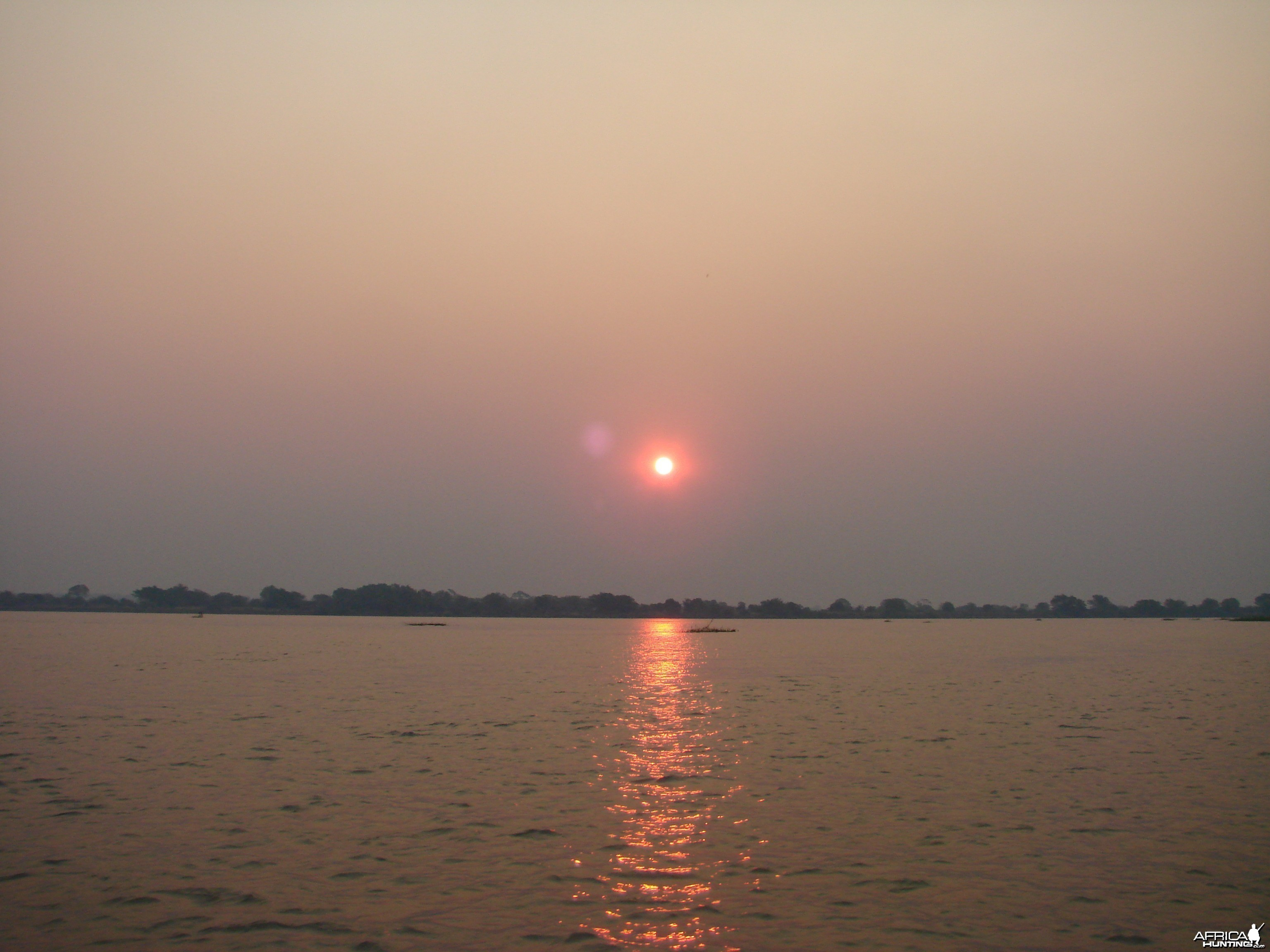 Sunrise on the Zambezi - Mozambique