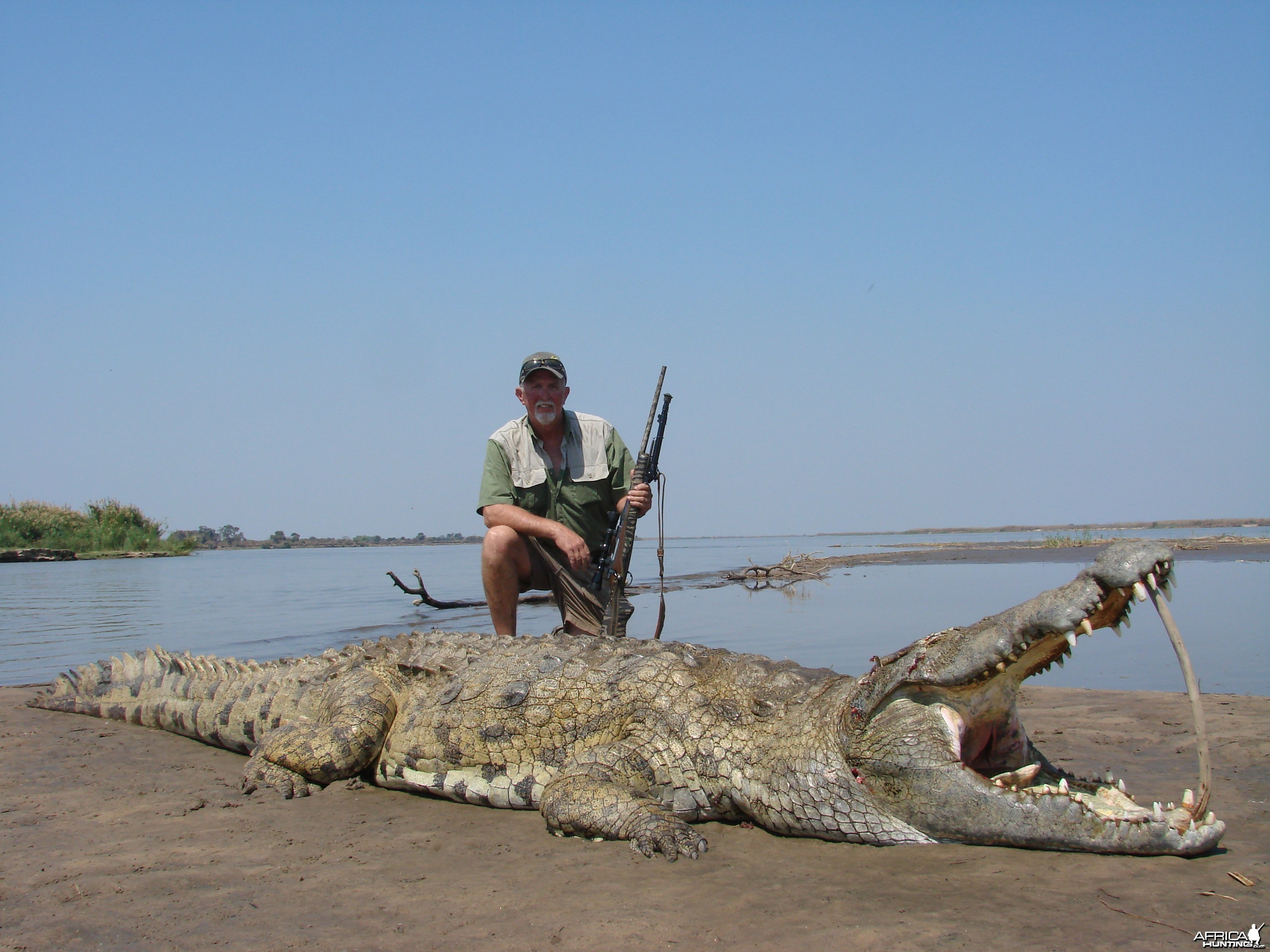 Great croc!