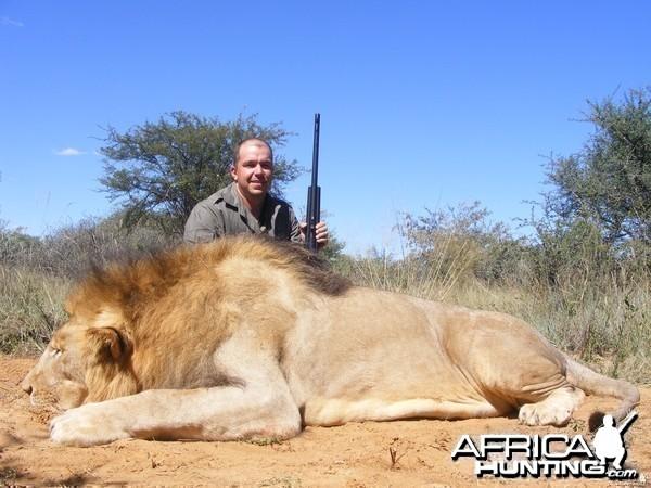 paulo salvo with lion
