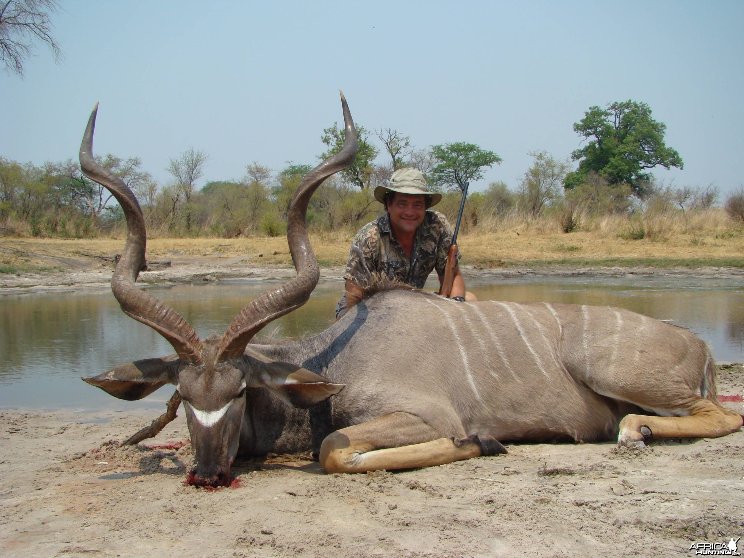 Kudu Shot in Zimbabwe in 2008