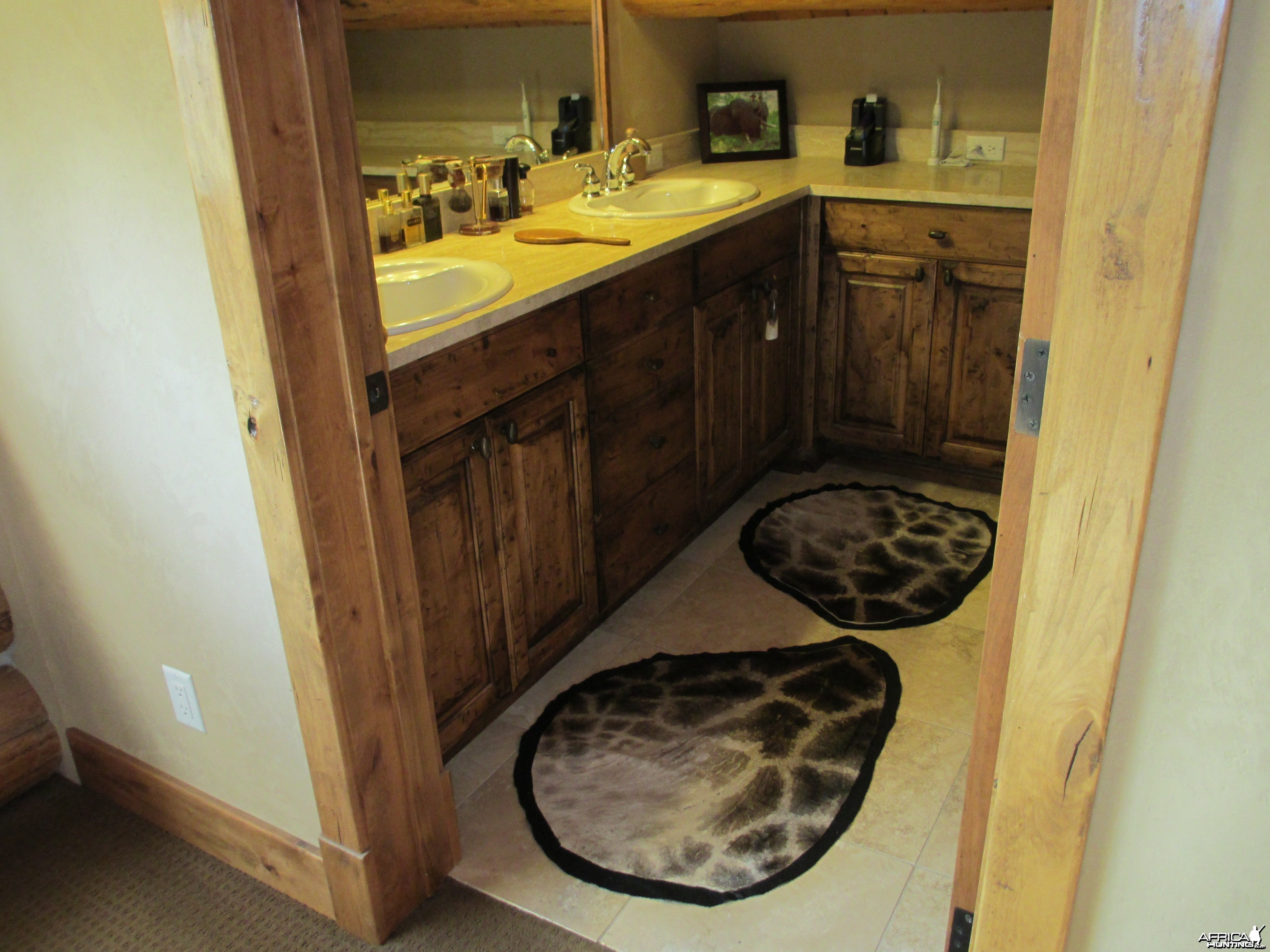 this is the giraffe rugs