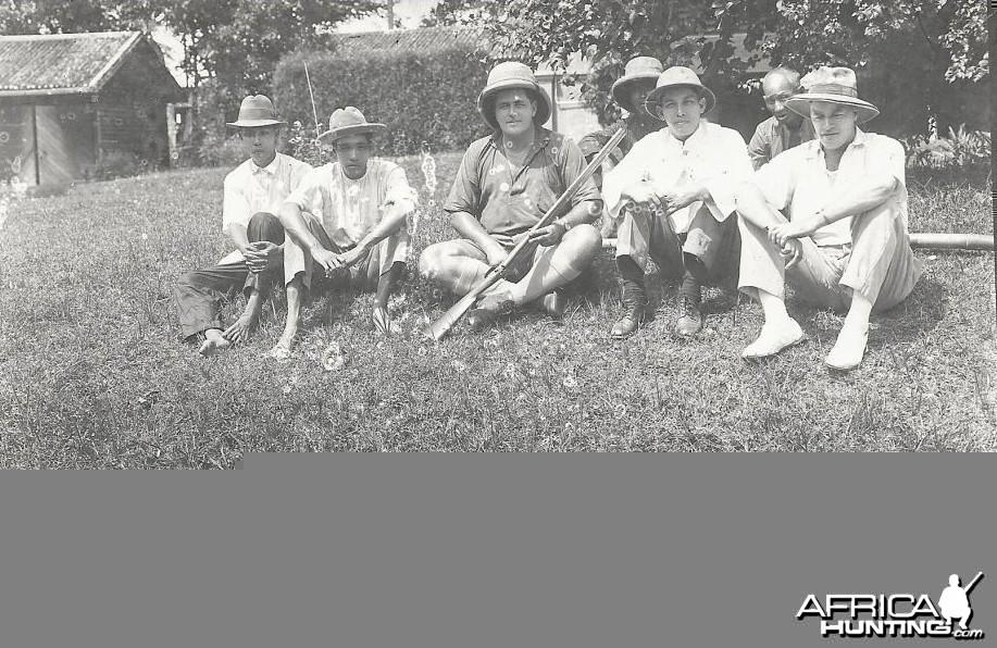 Hunting Tiger Hunters Perak Malaysia 1920s