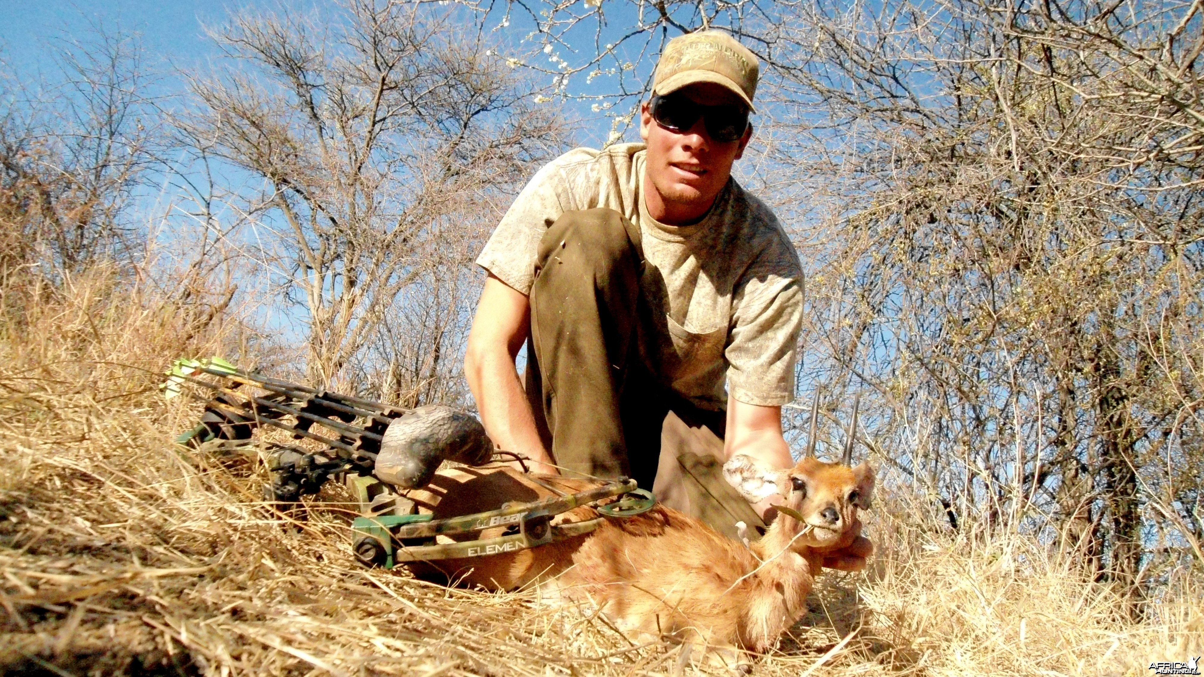 Bowhunting Steenbok in Namibia