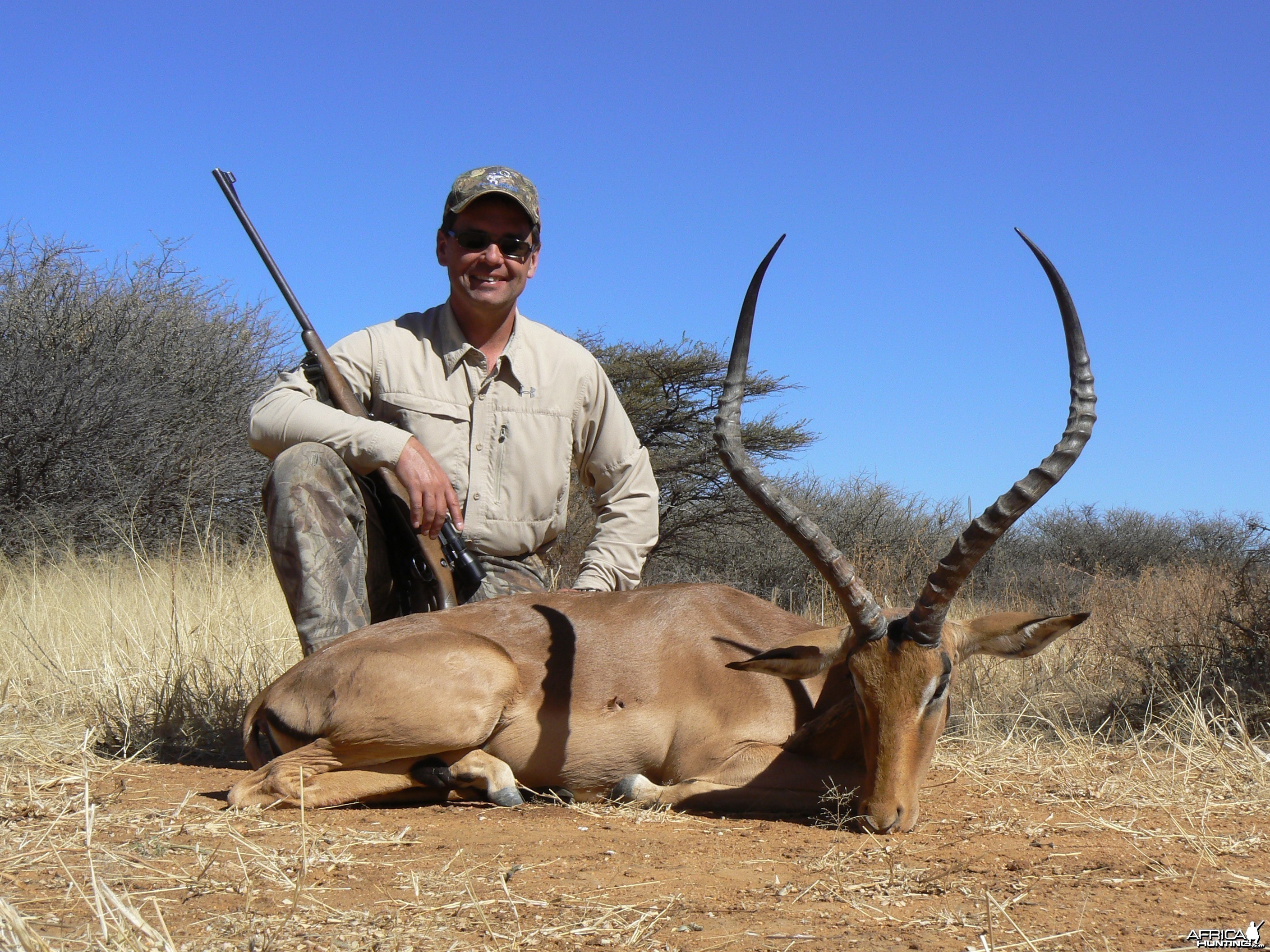 Hunting Impala in Namibia