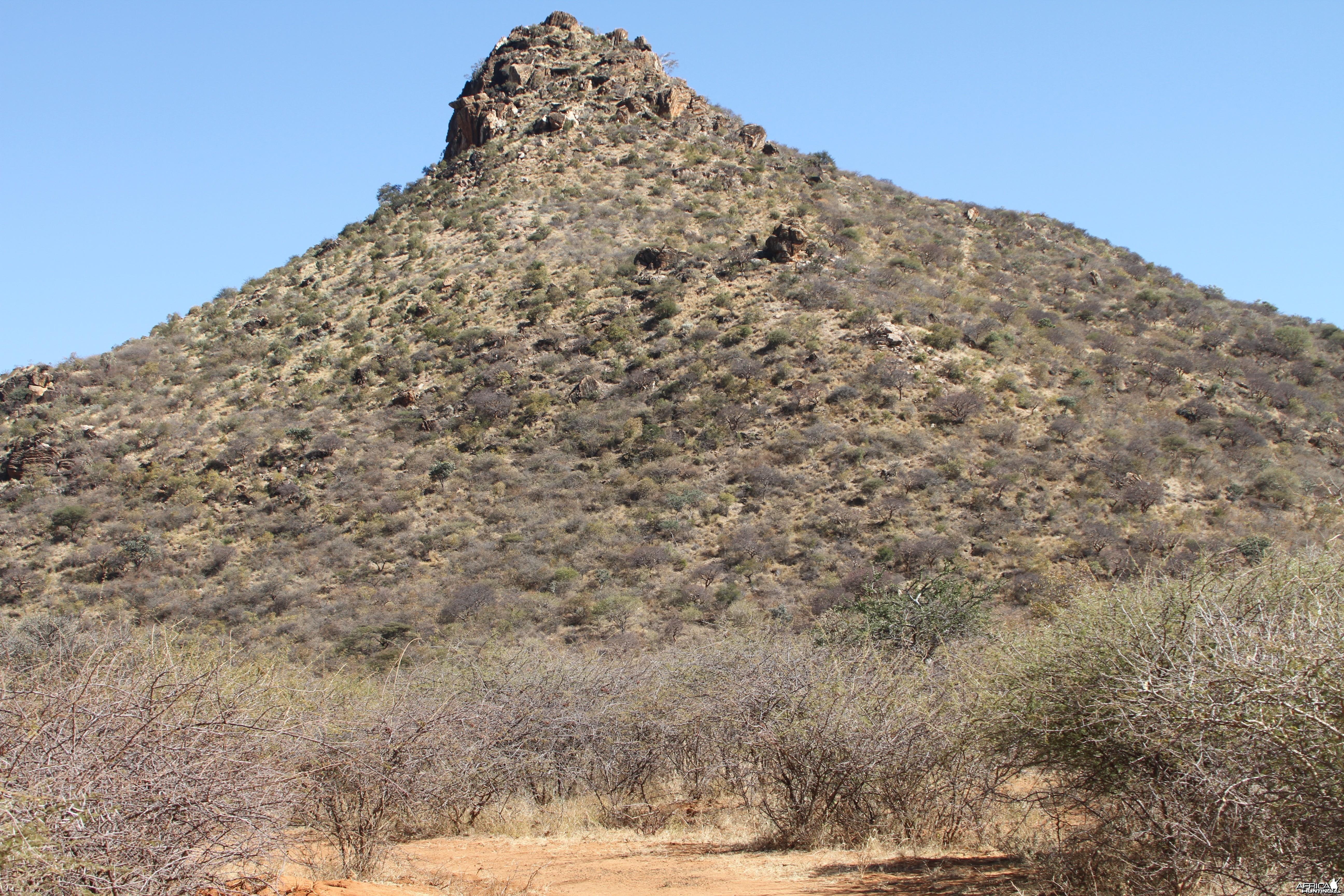 Ozondjahe Peak Namibia