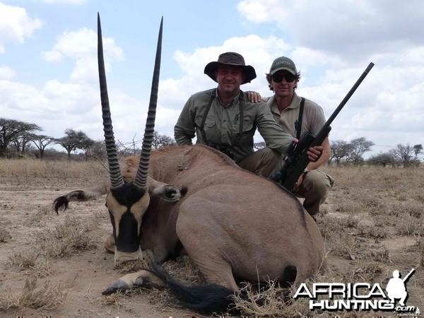 Oryx Tanzanie