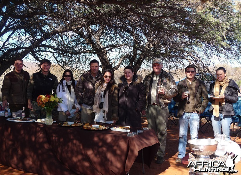 Hunting with Wintershoek Johnny Vivier Safaris
