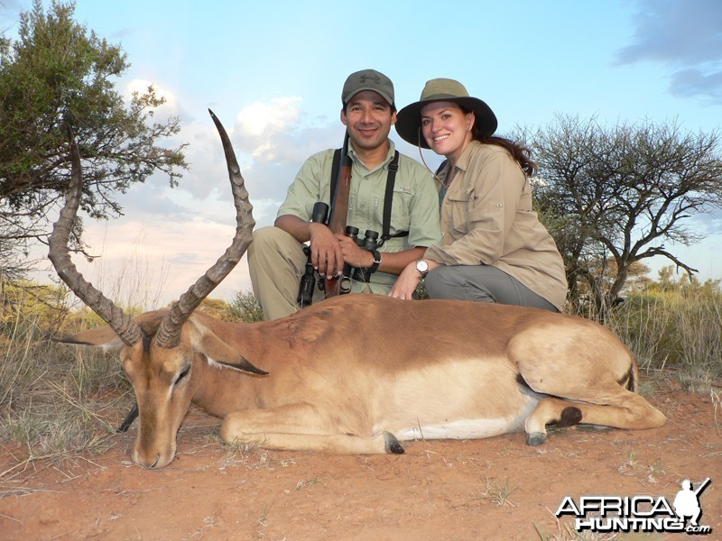 Impala hunted with Wintershoek Johnny Vivier Safaris