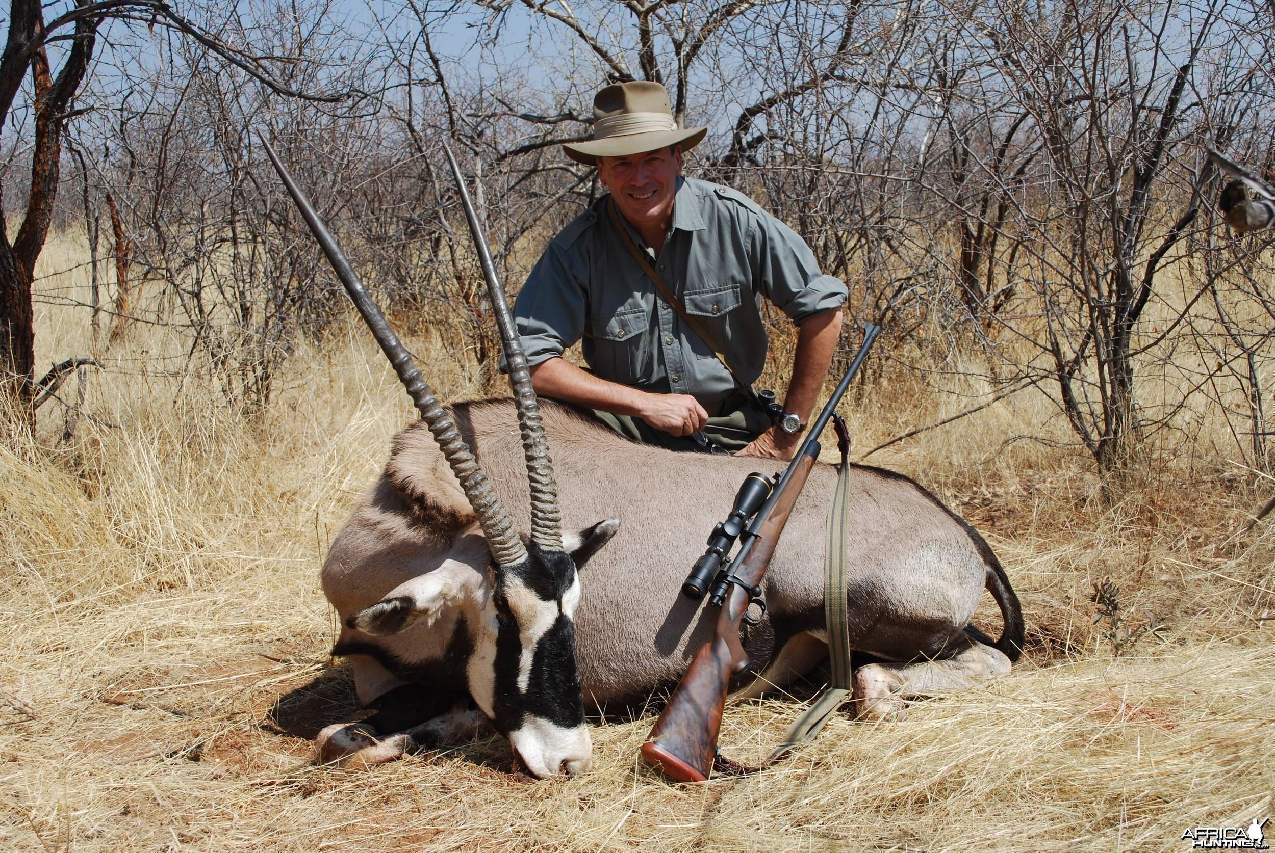 Namibian Oryx Bull