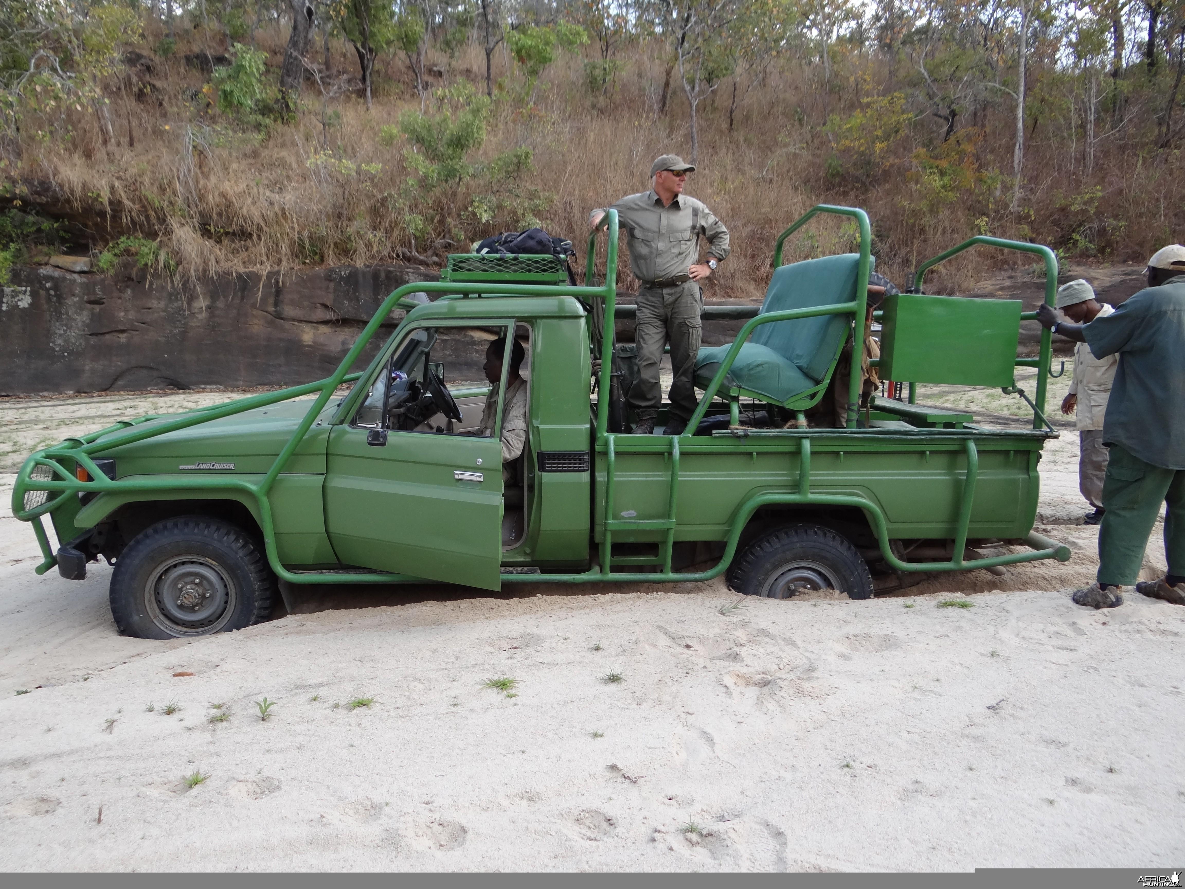 Hunting car