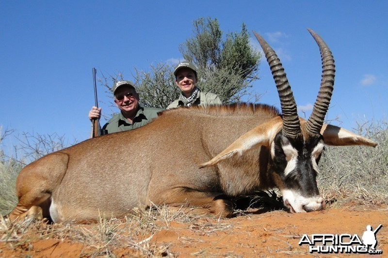 Roan hunted with Wintershoek Johnny Vivier Safaris