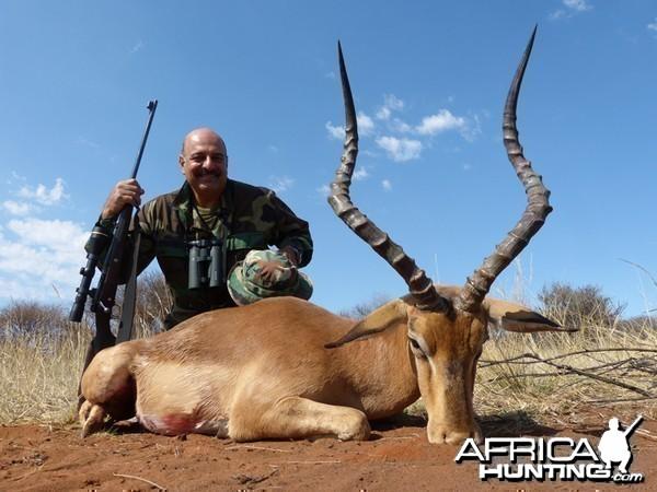 Impala hunted with Wintershoek Johnny Vivier Safaris