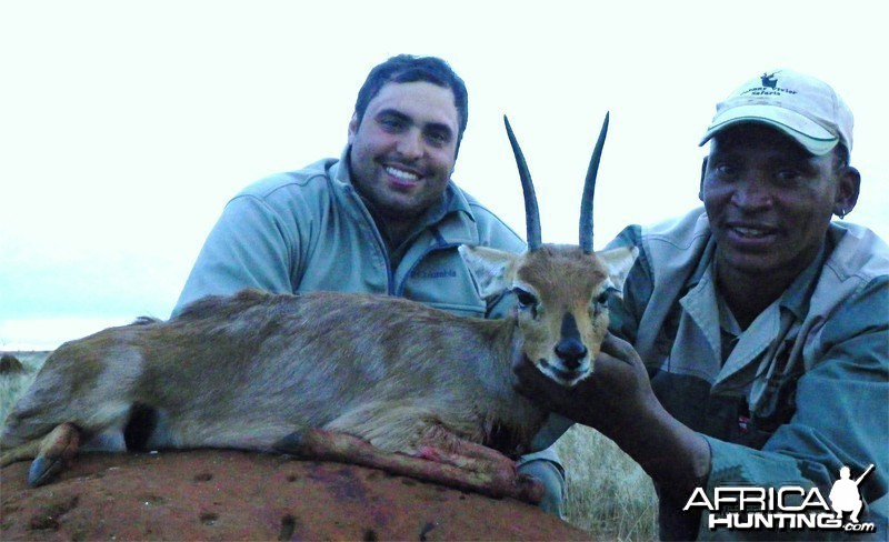 Steenbok hunted with Wintershoek Johnny Vivier Safaris