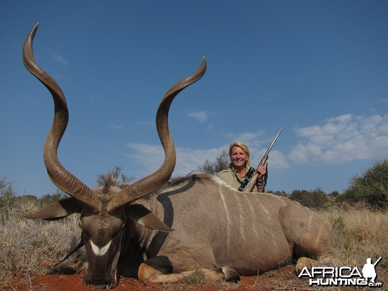 Kudu hunted with Wintershoek Johnny Vivier Safaris