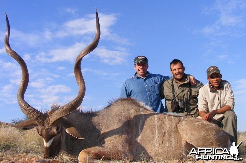 Kudu hunted with Wintershoek Johnny Vivier Safaris