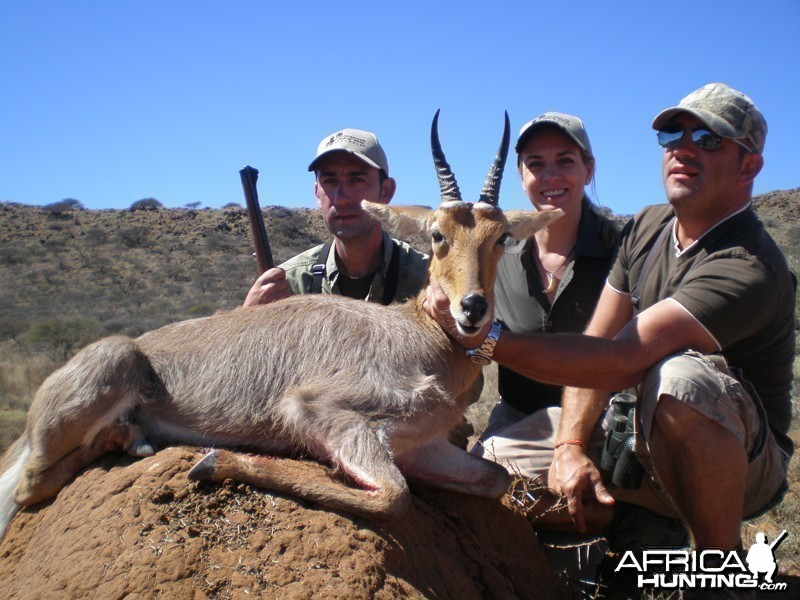 Mountain Reedbuck hunted with Wintershoek Johnny Vivier Safaris