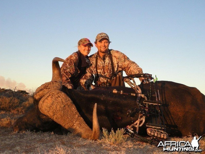 Buffalo hunted with Wintershoek Johnny Vivier Safaris