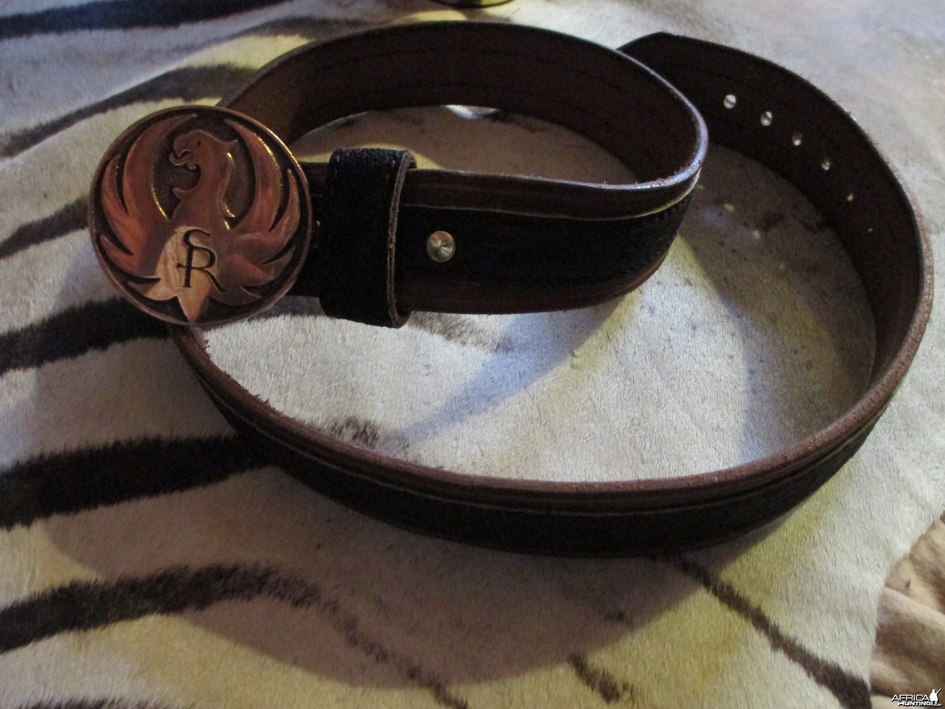 elephant hide belt