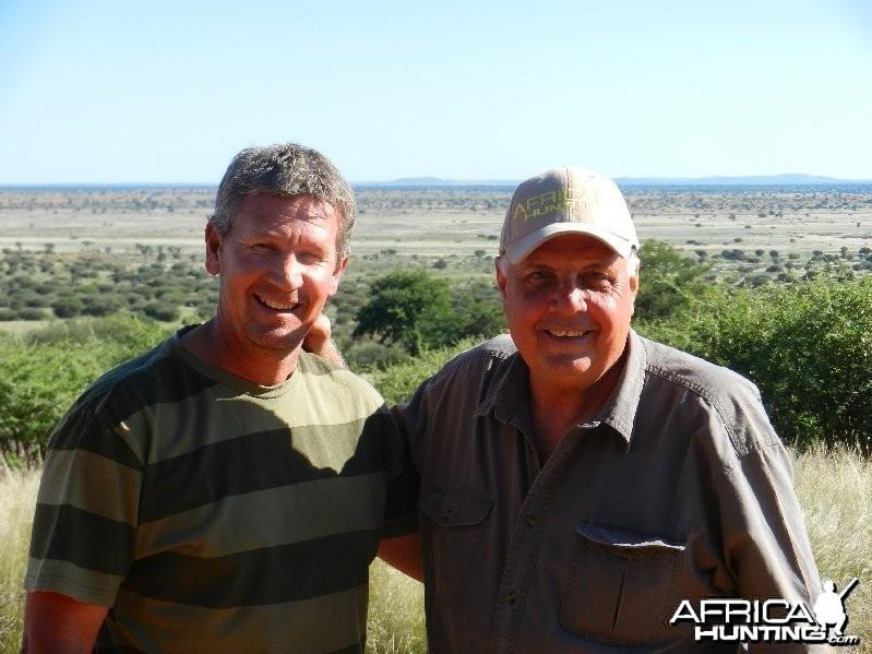 AH hat in Namibia