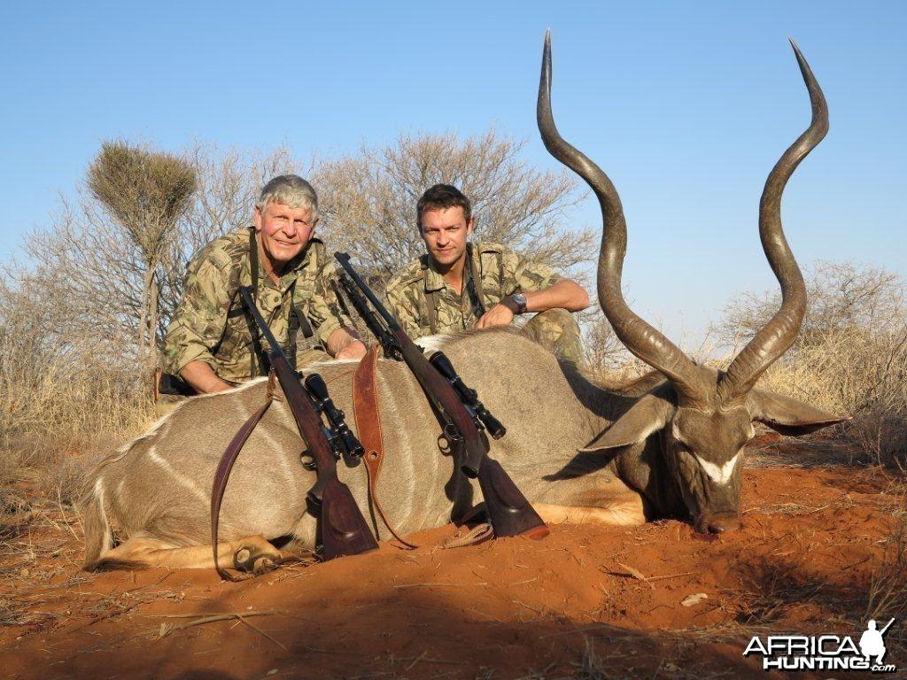 """My Kudu Bull 51.5"""""""