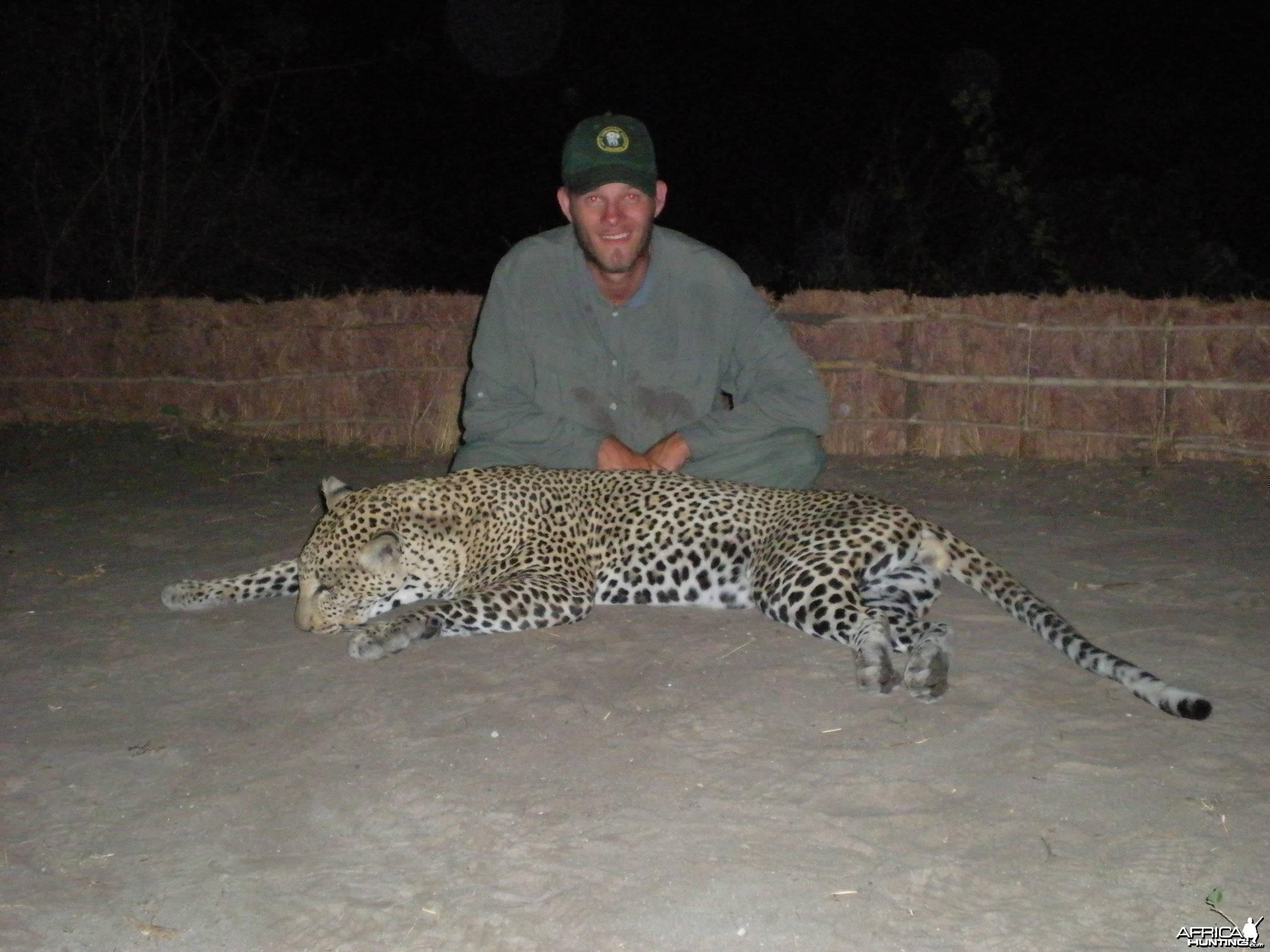 Selous Leopard Tanzania