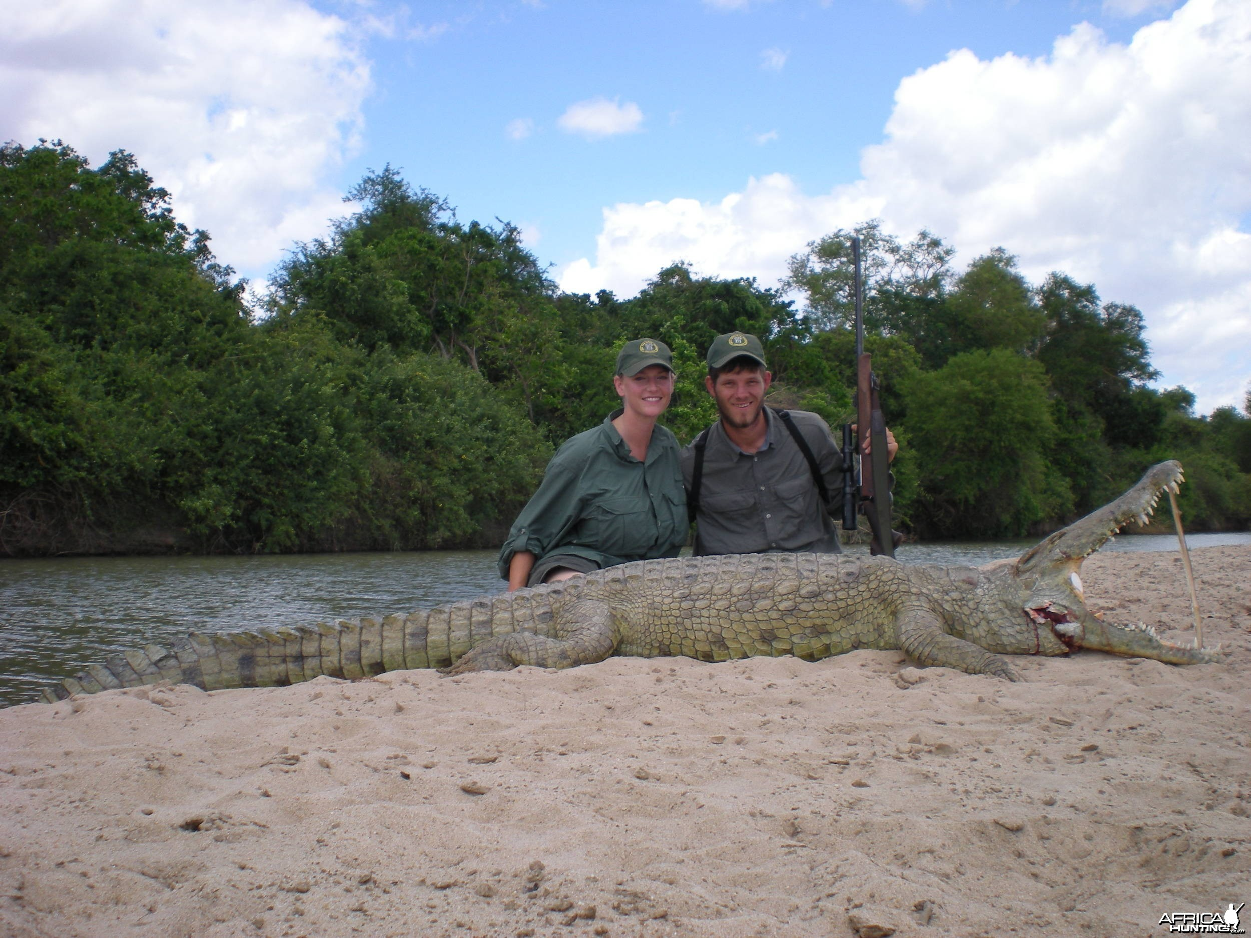 Rufiji Selous Croc