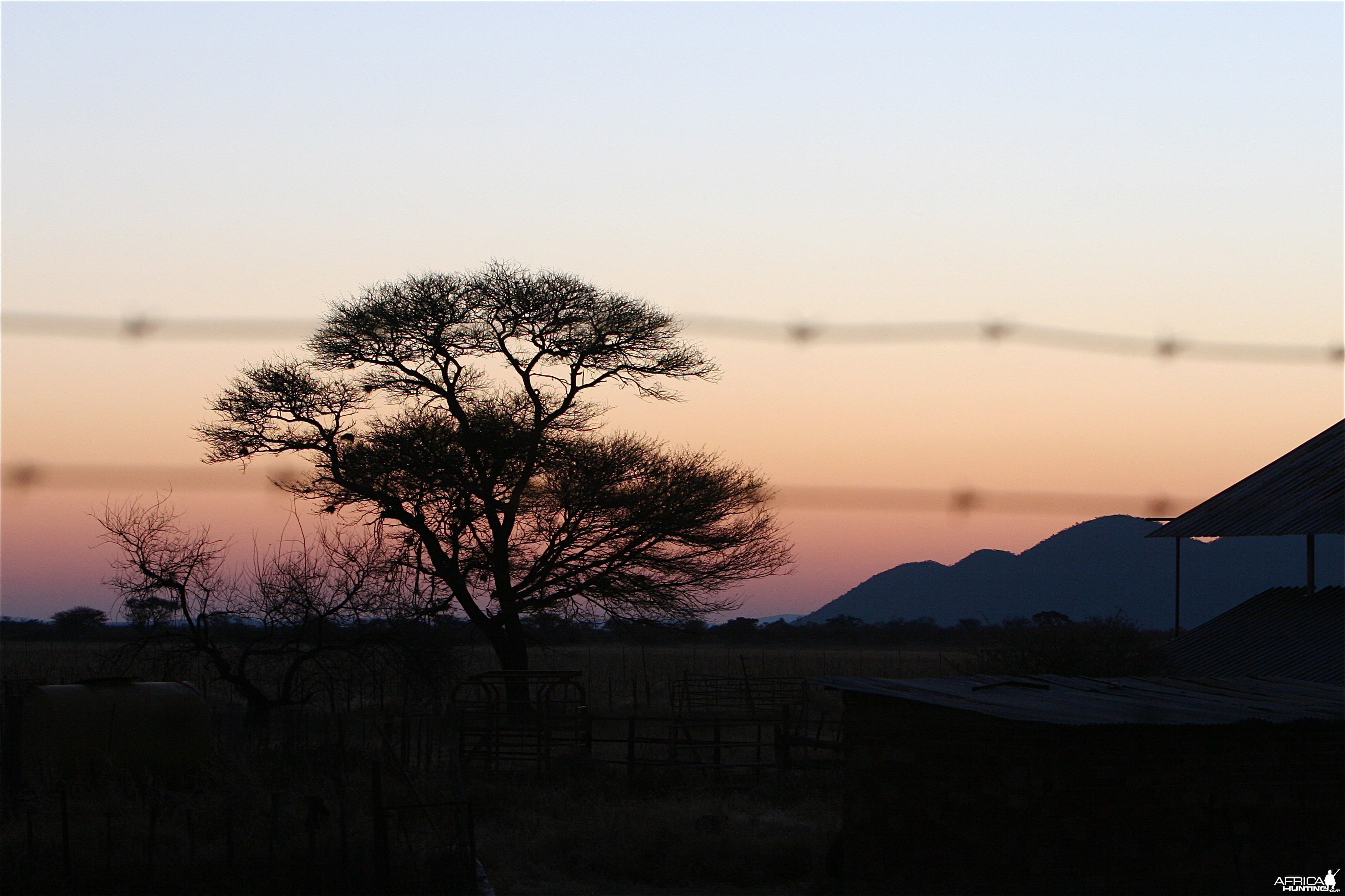 My first Namibian Sunset