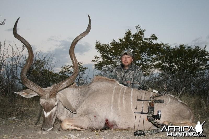 Bowhunting Kudu 55 3/8 Namibia