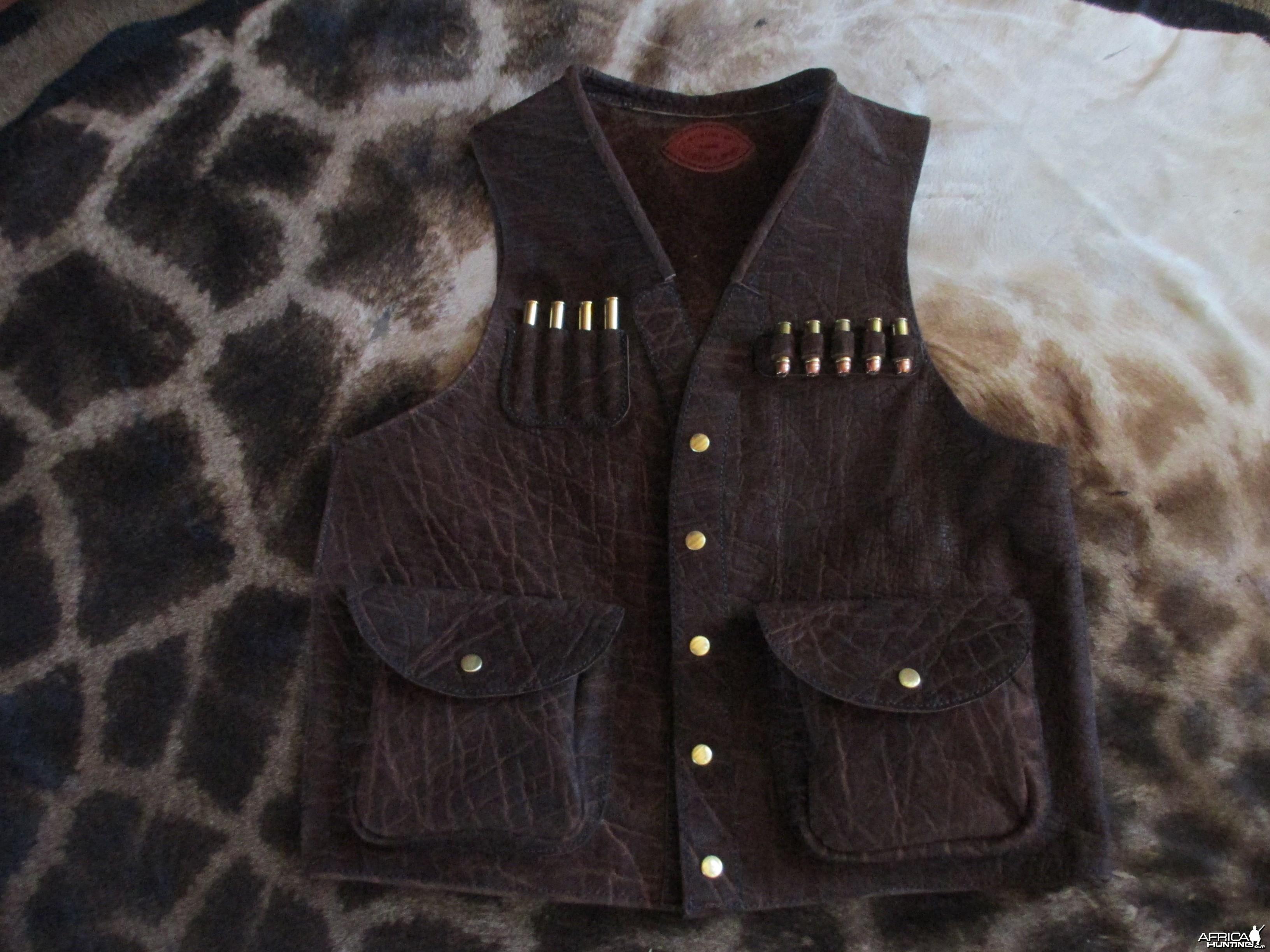 custom elephant vest