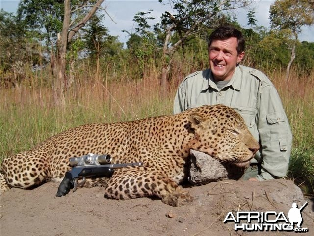 Leopard Hunting with Theunis Botha