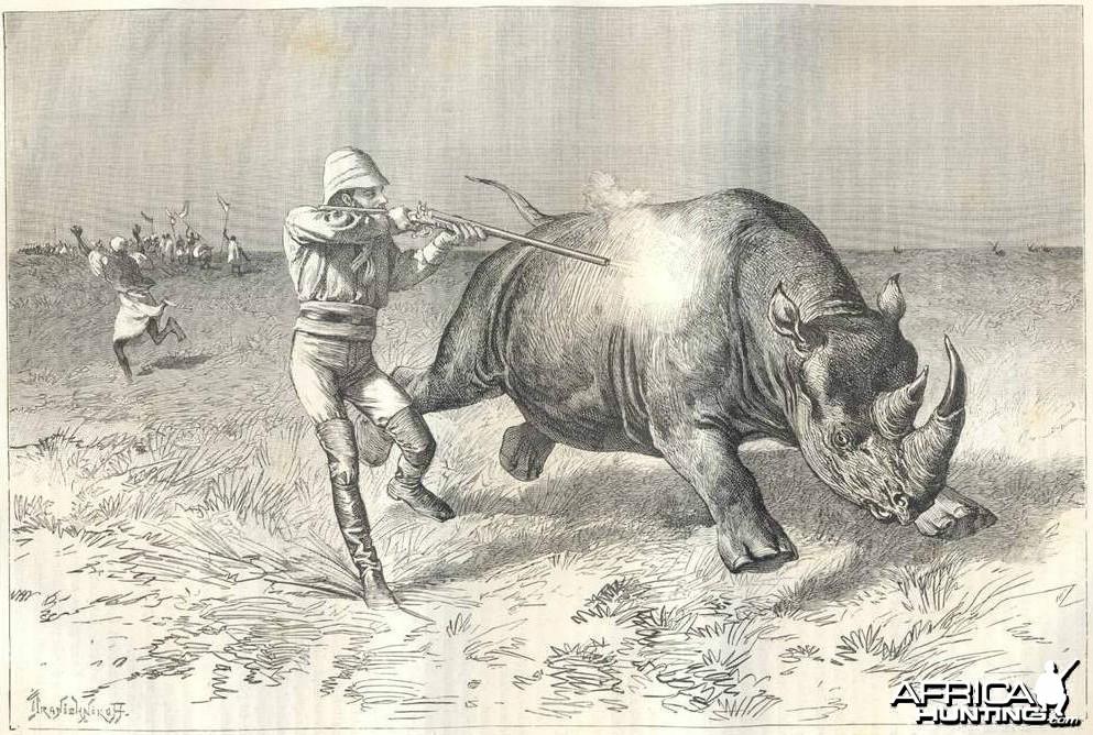 Hunting Rhino Kenya