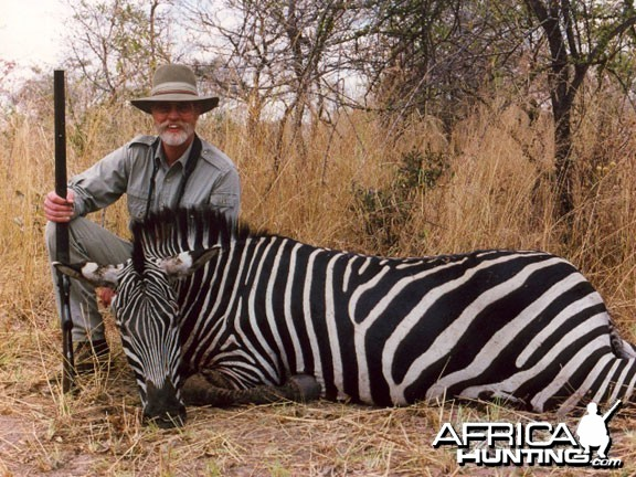 Hunting Zebra with Black Powder in Tanzania