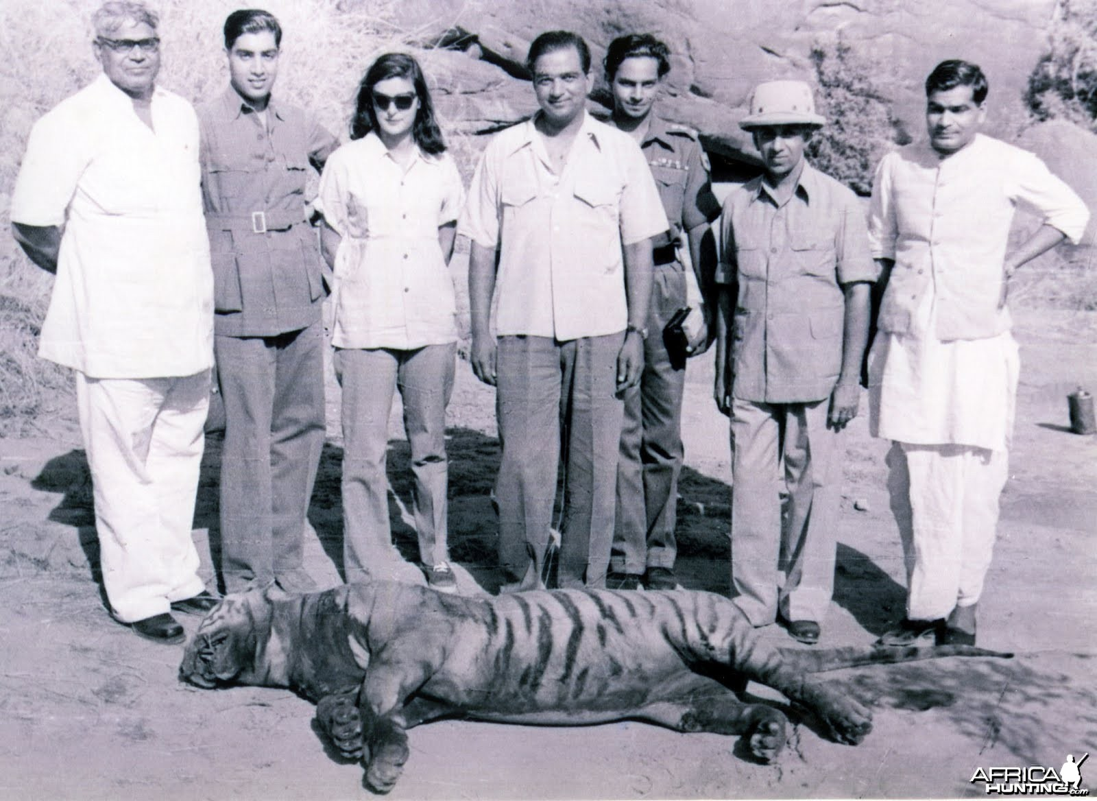 Tiger Shoot on River Chambal - 1952
