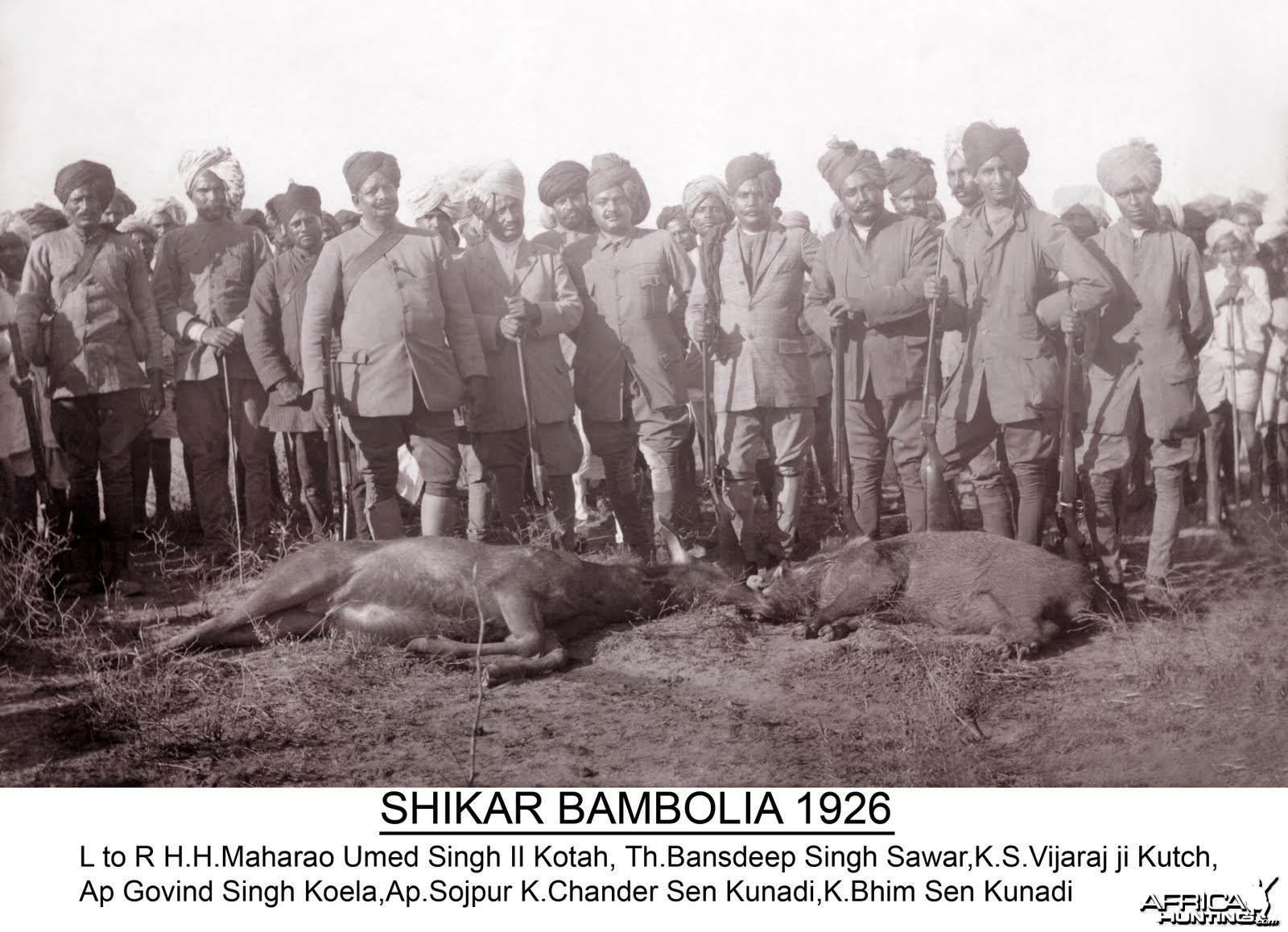 Hunting in Bambolia - 1926