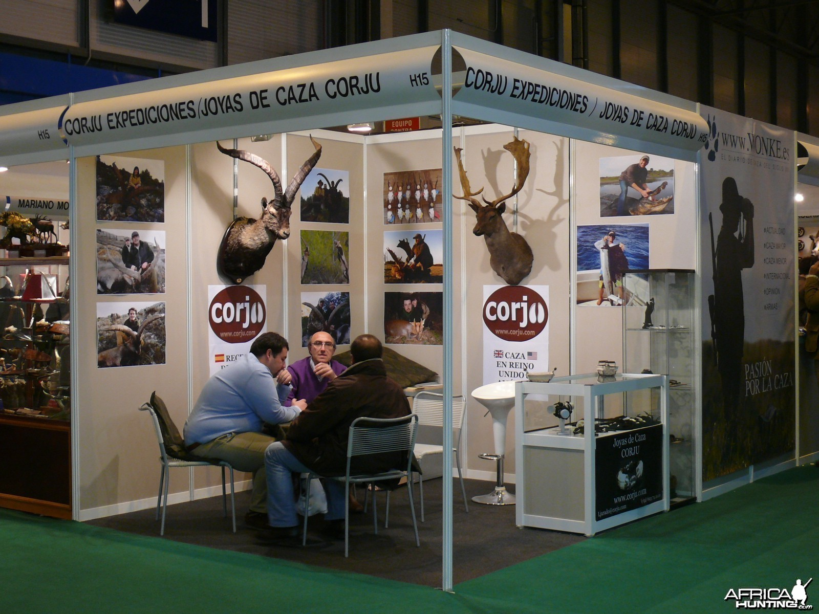 Cinegetica Hunting Show in Madrid Spain