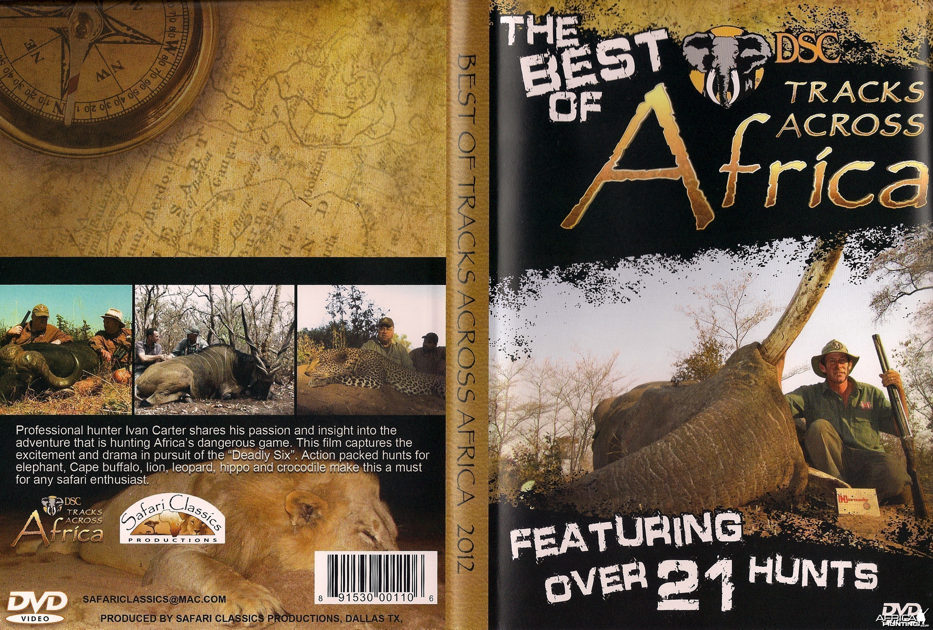 "THE BEST OF ""TRACKS ACROSS AFRICA"""
