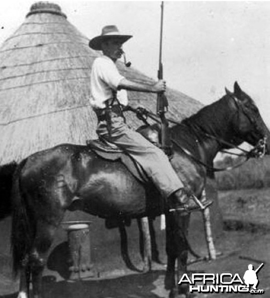 Harry Wolhuter the man who killed his lion with a knife