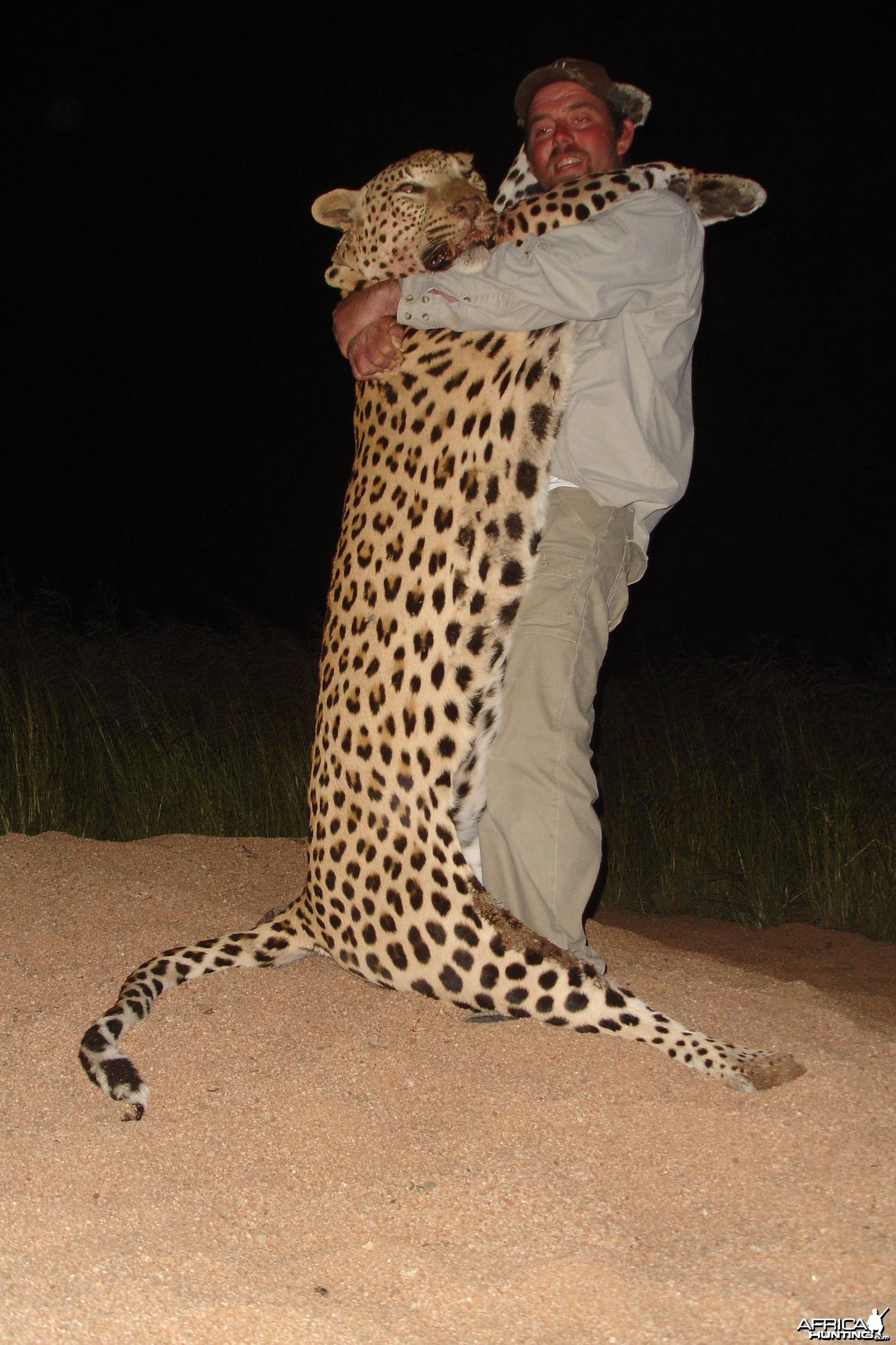 Namibia No 1 Leopard shot with African Twilight Safaris