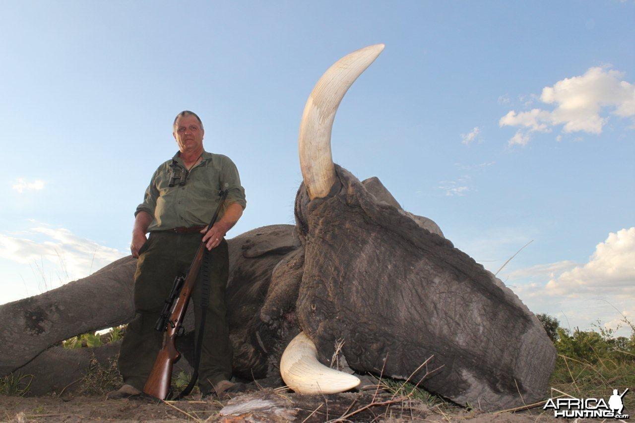 Management Trophy Elephant (Caprivi)