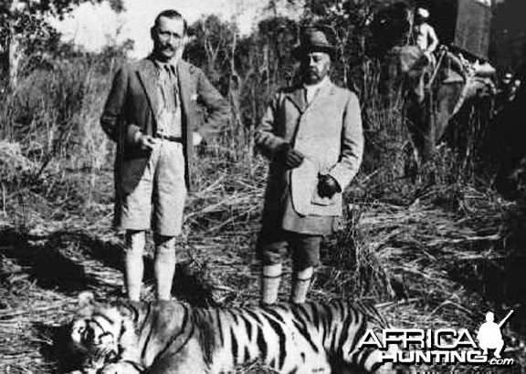 Maharaja in Nepal with Tiger