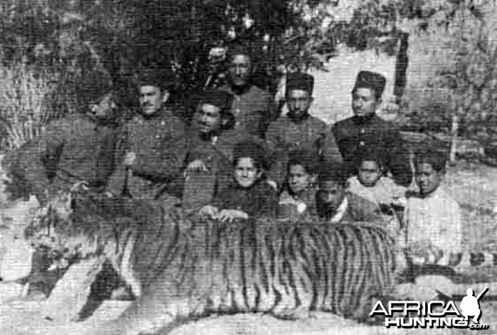 Qajar Mazandaran Tiger Hunt