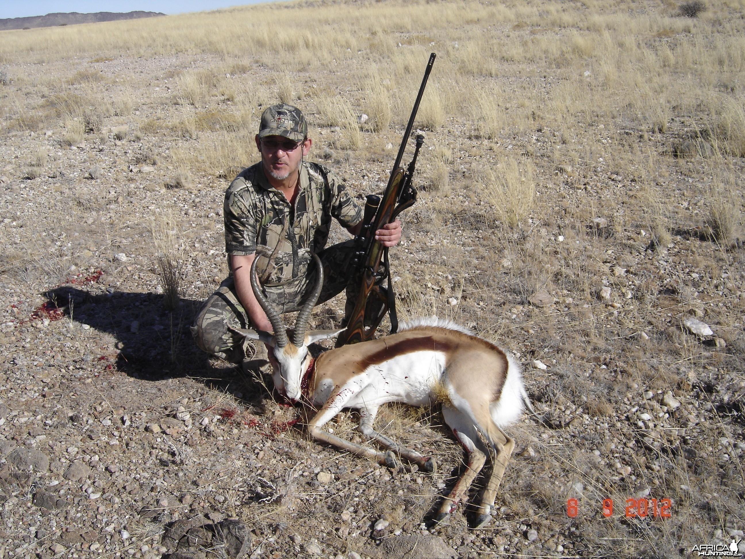 2012 Spitzkoppe - Namibia Springbok
