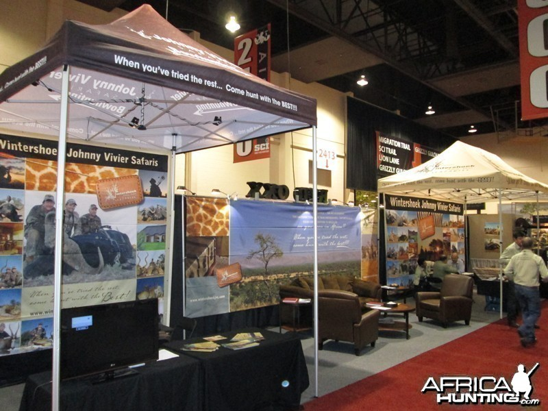 Wintershoek Johnny Vivier Safaris at SCI 2013