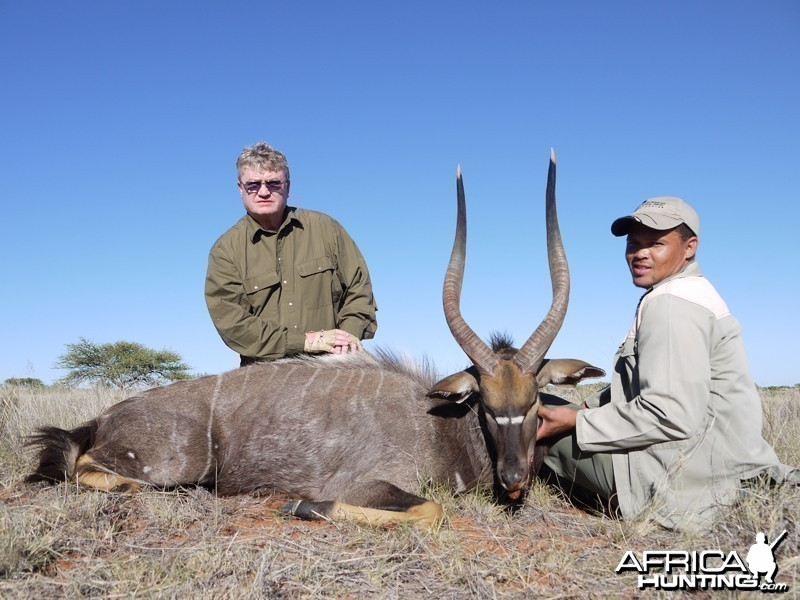 Nyala hunt with Wintershoek Johnny Vivier Safaris