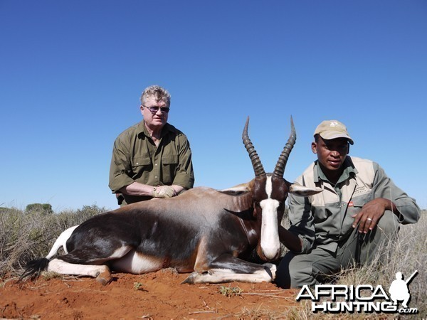 Bontebok hunt with Wintershoek Johnny Vivier Safaris