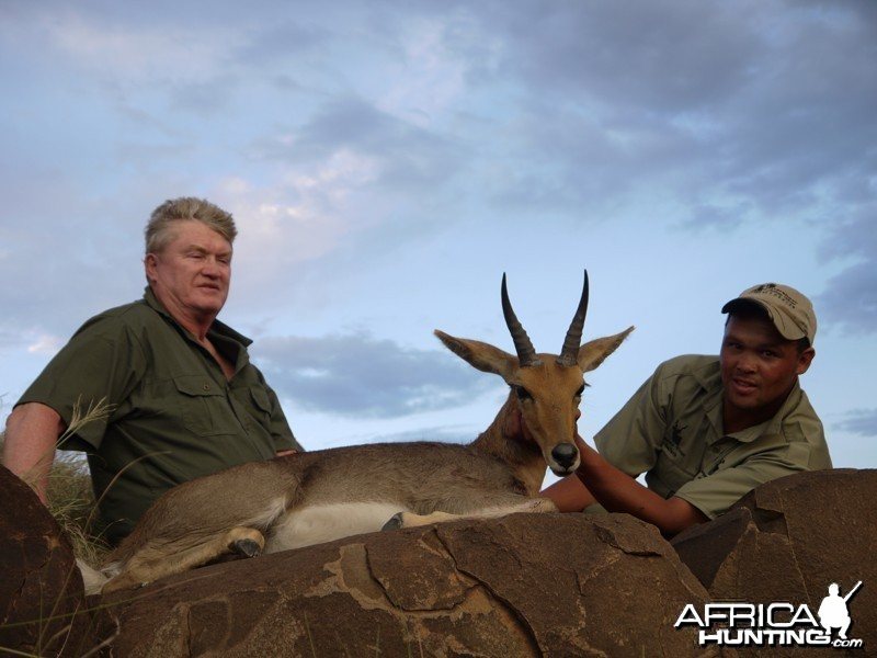 Southern Mountain Reedbuck hunt with Wintershoek Johnny Vivier Safaris