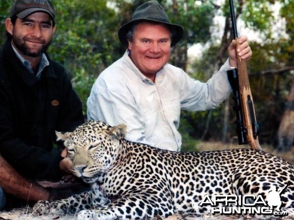 Hunting Leopard  Tanzania