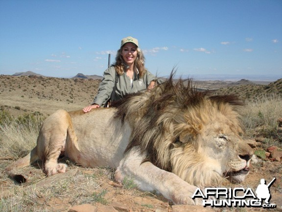 Lion Hunting South Africa