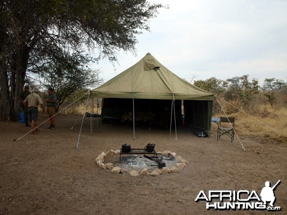 Tent Camp in Namibia