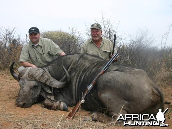 Hunting Buffalo Namibia
